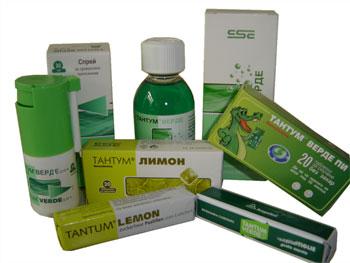 Инструкция препарата Тантум Верде