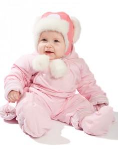 новорожденный зимой