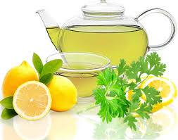Петрушка с лимоном для похудения