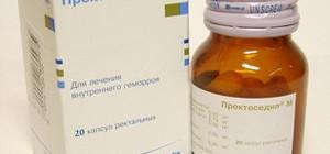 Применение препарата Проктоседил от геморроя