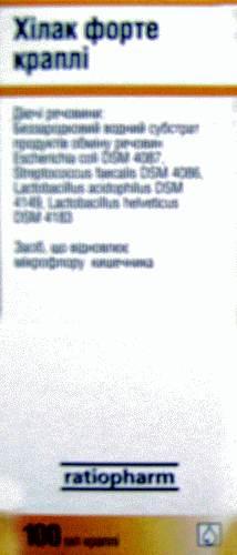 Применение препарата Хилак Форте