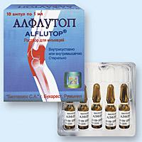 Алфлутоп в борьбе с проблемами суставов