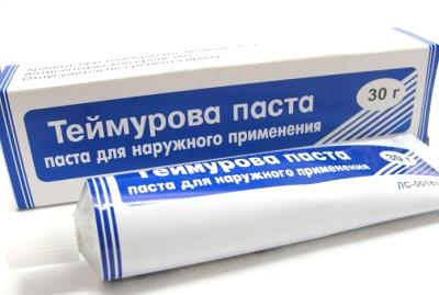Применение пасты Теймурова