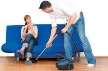 Жена ничего не делает по дому