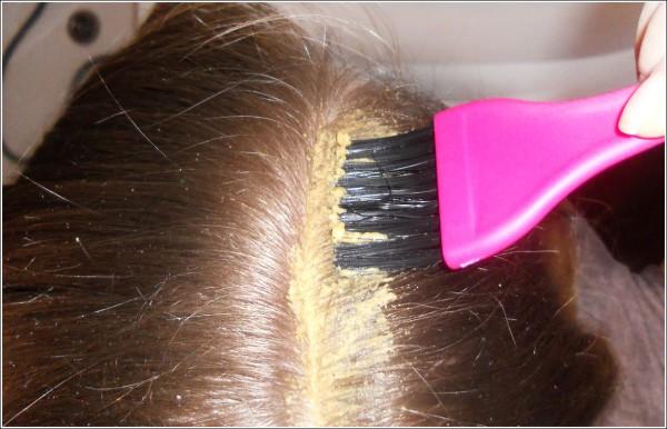 Маска для волос от выпадения с глиной