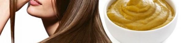 Применение горчицы для жирных волос