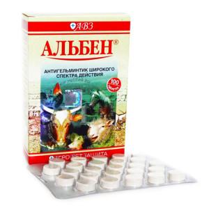 таблетки Альбен